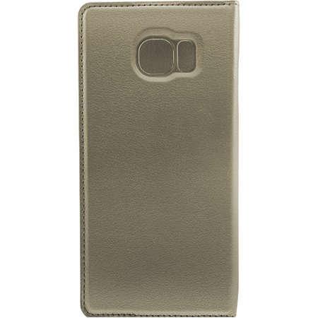 Husa Flip Cover FINE TECHNIX FTS7EF010GR Smart Stand Case Gri pentru Samsung Galaxy S7 Edge
