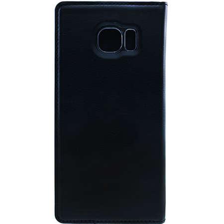 Husa Flip Cover FINE TECHNIX FTS7EF010BK Smart Stand Case Negru pentru Samsung Galaxy S7 Edge