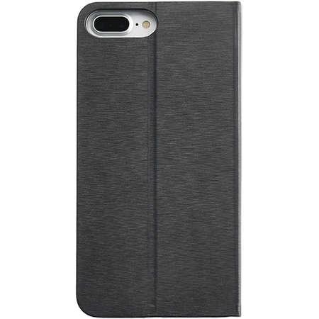 Husa Flip Cover YUPPI LOVE TECH MIRBBOOKIP7PBK Stand Negru pentru Apple iPhone 7 Plus