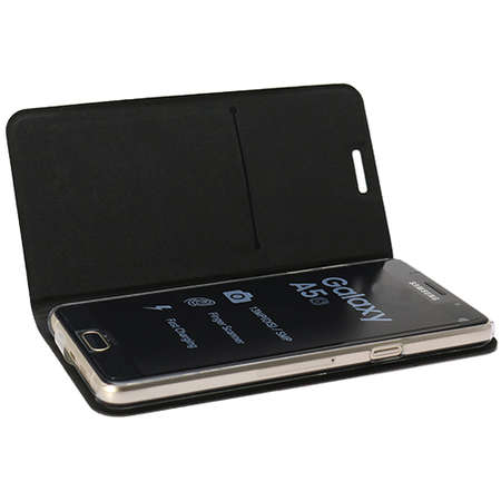 Husa Flip Cover YUPPI LOVE TECH CSSTANDA5PUBK Stand Negru pentru Samsung Galaxy A5 2016