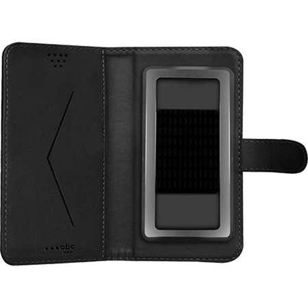 Husa Flip Cover ABC Tech UNIBOOKXLBK Negru pentru HTC Desire 628