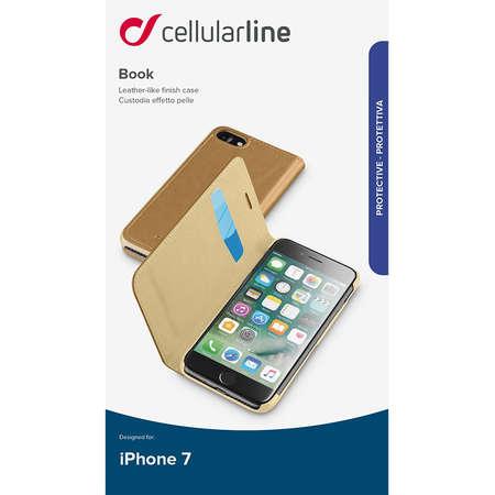 Husa Flip Cover Cellularline BOOKESSIPH747N pentru Apple iPhone 7