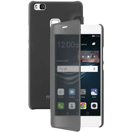 Husa Flip Cover Cellularline BOOKTOUCHP9LITEK Negru pentru HUAWEI P9 Lite