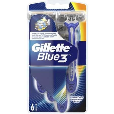 Aparat de ras Gillette Blue3 punga 6 buc