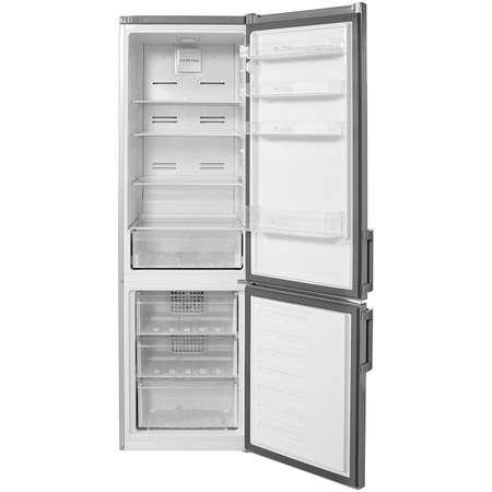 Combina frigorifica ARCTIC AK54305NFMT+ A+ 266 L Platinum Grey
