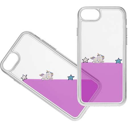 Husa Protectie Spate Cellularline AQUACASEIPH747V Violet pentru Apple iPhone 7
