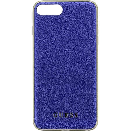 Husa Protectie Spate Guess GUHCP7LIGLBL Iridescent Albastru pentru Apple iPhone 7 Plus