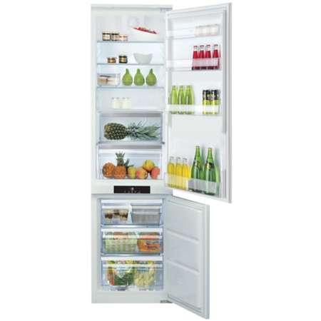 Combina frigorifica incorporabila Hotpoint Ariston BCB 80201 LED No Frost 294 Litri A+ Alba