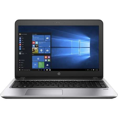 Laptop HP ProBook 450 G4 15.6 inch Full HD Intel Core i5-7200U 8GB DDR4 1TB HDD 128GB SDD nVidia GeForce 930MX 2GB FPR Windows 10 Pro Silver
