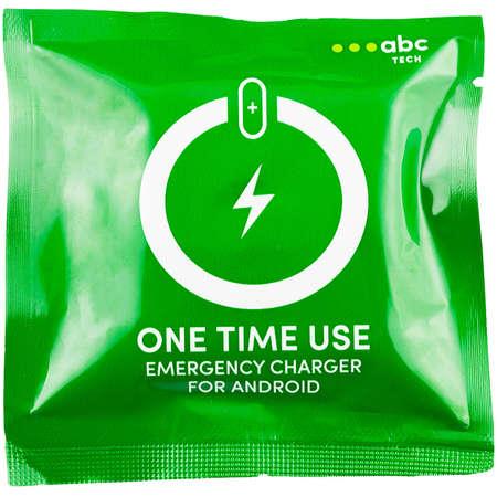 Bateria externa de urgenta ABC Tech Unica 1000 mAh microUSB