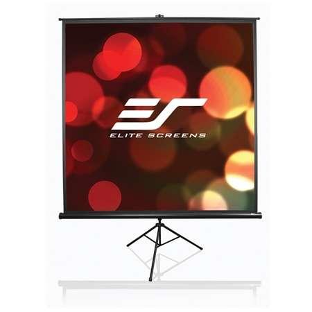Ecran de proiectie ELITESCREENS cu trepied  marime vizibila 180x180 cm