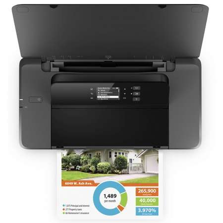 Imprimanta portabila HP OfficeJet 202 Neagra