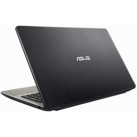Laptop Asus VivoBook X541UA-GO1376 15.6 inch HD Intel Core i3-7100U 4GB DDR4 500GB HDD Endless OS Chocolate Black