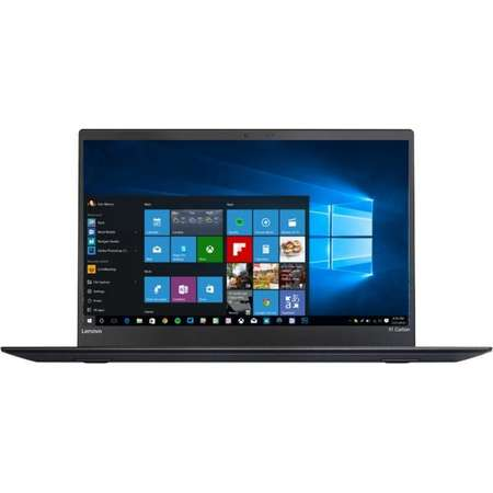 Laptop Lenovo ThinkPad X1 Carbon 5th gen 14 inch WQHD Intel Core i7-7500U 16GB DDR3 256GB SSD 4G Windows 10 Pro Black