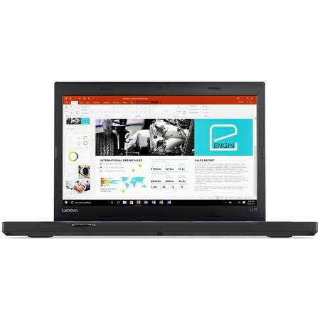 Laptop Lenovo ThinkPad L470 14 inch Full HD Intel Core i5-7200U 8GB DDR4 256GB SSD Black