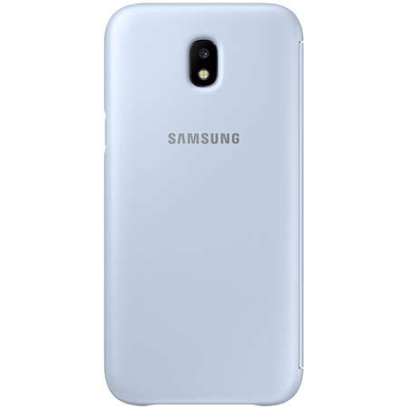 Husa Flip Cover EF-WJ530CLEGWW Agenda Albastru pentru SAMSUNG Galaxy J5 2017