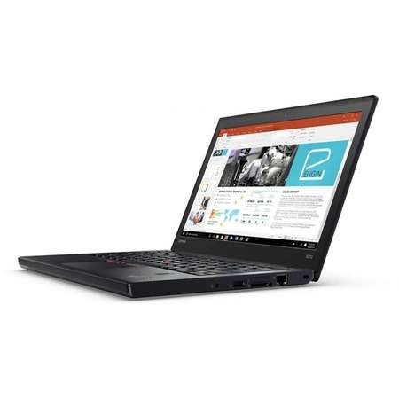 Laptop Lenovo ThinkPad X270 12.5 inch Full HD Intel Core i7-7500U 8GB DDR4 256GB SSD Windows 10 Pro Black