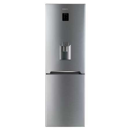 Combina frigorifica Daewoo RN-307RDQM 305 Litri Clasa A+ Inox