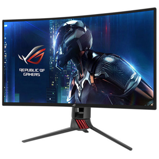Monitor Led Gaming Curbat Xg27vq 27 Inch 4ms Grey Red