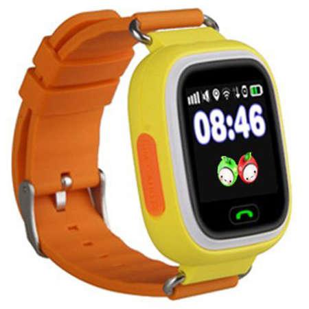 Smartwatch Star cu GPS SIM si Apel SOS Portocaliu