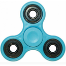 Fidget Spinner Plastic Blue Light
