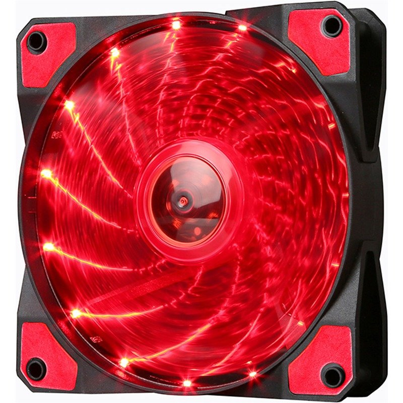 Ventilator FN-10 Red LED 120 mm thumbnail