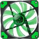 Ventilator Marvo FN-10 Green LED 120 mm