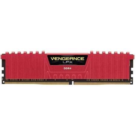 Memorie Corsair Vengeance LPX Red 8GB DDR4 3600 MHz CL18 Dual Channel Kit
