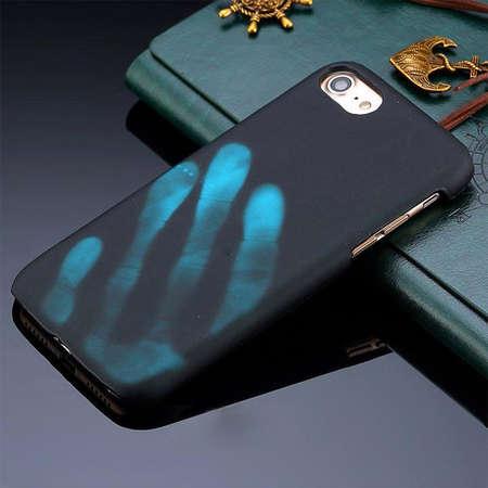 Husa Protectie Spate Star AMATHERMO_IP7BL Albastru pentru Apple iPhone 7