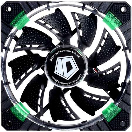 Ventilator ID-Cooling CF-12025-G 120mm Concentric Circular Green LED fan