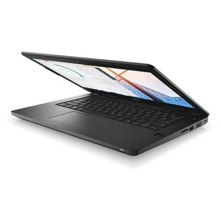 Laptop Dell Latitude 3480 14 inch Full HD Intel Core i7-7500U 8GB DDR4 1TB HDD AMD Radeon R5 M430 2GB Windows 10 Pro Black