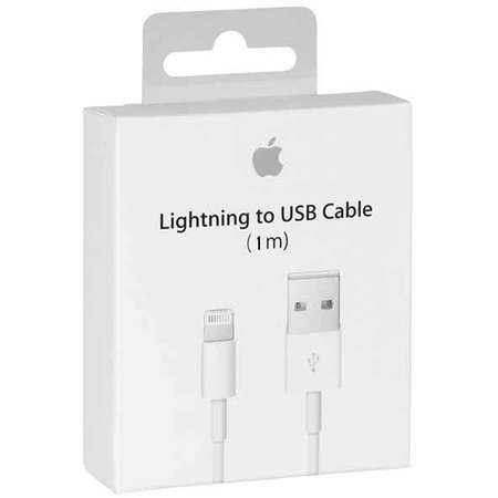 Cablu de date Apple Lightning 1m ambalaj retail White