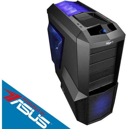 Sistem desktop Primal Gaming V3 Powered by ASUS Intel Core i5-7600 Quad Core 3.5 GHz 8GB DDR4 2400 MHz Placa video Asus nVidia GeForce GTX 1050 Ti Cerberus 4GB DDR5 HDD 1TB Free Dos Black