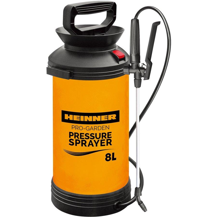 Pulverizator cu presiune GPV004 8L Negru portocaliu thumbnail