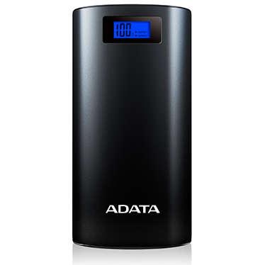 Acumulator extern ADATA P20000D 20000mAh 2x USB 2.1A Negru