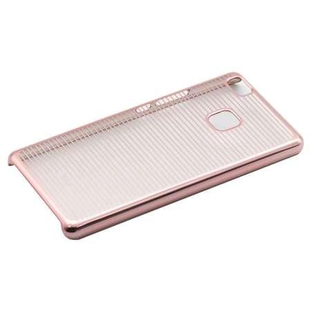 Carcasa Tellur pentru Huawei P9 Lite Dungi Orizontale Rose