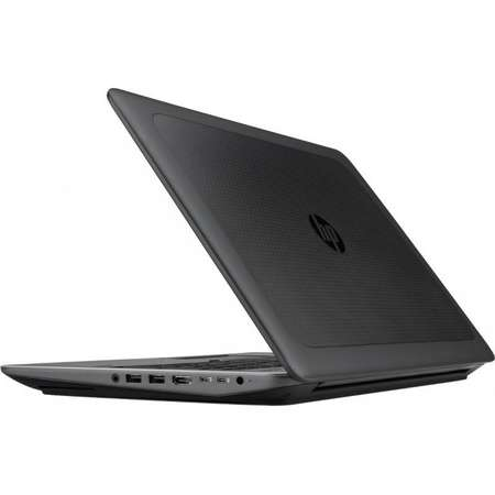 Laptop HP ZBook 15 G4 15.6 inch Full HD Intel Core i7-7700HQ 8GB DDR4 1TB HDD 256GB SSD nVidia Quadro M1200 4GB FPR Windows 10 Pro Black