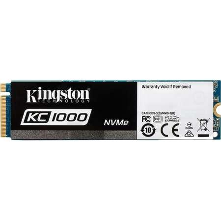 SSD Kingston KC1000 480GB PCI Express 3.0 x4 M.2 2280