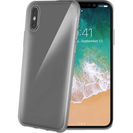 Husa Protectie Spate Celly GELSKIN900BK Negru pentru APPLE iPhone X