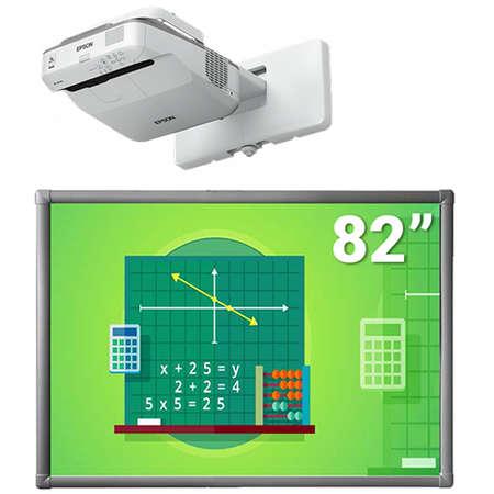 Pachet Videoproiector EPSON EB-670 Tabla Interactiva EVOBOARD 82P