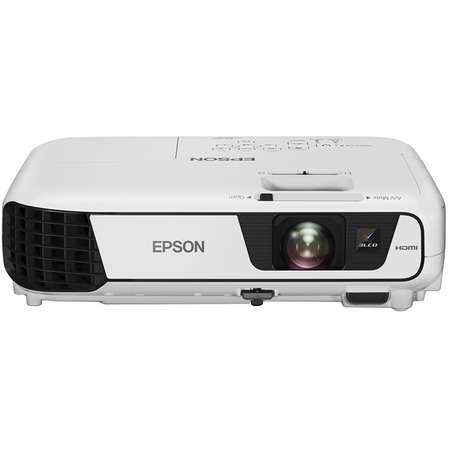 Pachet Videoproiector Epson EB-S31 Ecran de proiectie manual Blackmount 200x200cm