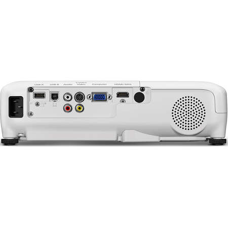 Pachet Videoproiector Epson EB-W31 Ecran de proiectie manual Blackmount 200x200cm