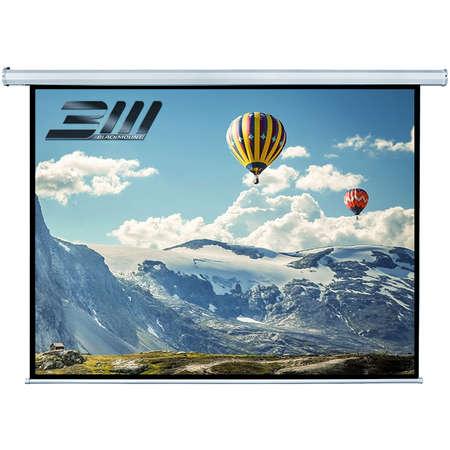 Ecran de proiectie electric perete/tavan Blackmount marime vizibila 240 x 135 cm cu telecomanda