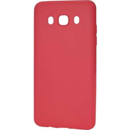Husa de protectie Procell Silicon Silky pentru Samsung Galaxy J5 (2016) Rosu