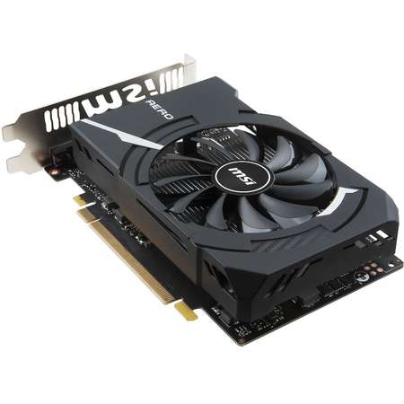Placa video MSI nVidia GeForce GTX 1050 Ti AERO ITX OCV1 4GB DDR5 128bit