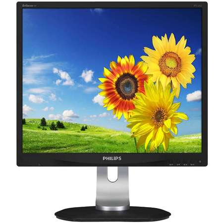 Monitor LED Philips P-line 19S4LSB5/00 19 inch 14ms Black Grey