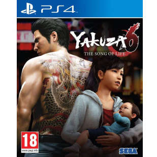 Joc consola Sega YAKUZA 6 THE SONG OF LIFE D1 EDITION PS4