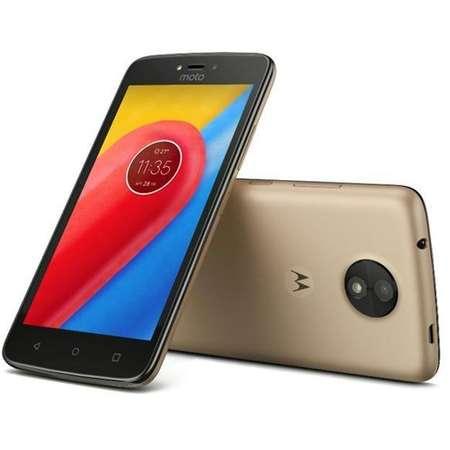 Smartphone Motorola C Plus 16GB Dual SIM 4G Gold
