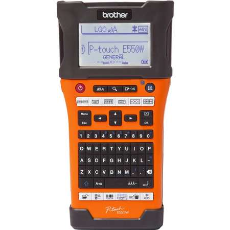 Imprimanta termica Brother PT-E550W Monocrom Banda 24 mm