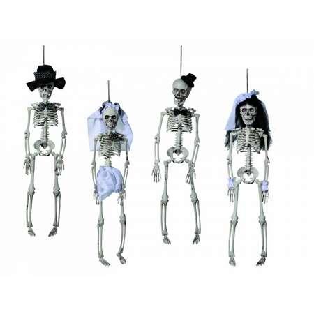 Jucarie OUT OF THE BLUE OOTB98/2050 Figurina schelet din plastic cu agatatoare
